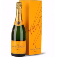 Champagne Veuve Clicquot Brut Yellow Label Con Estuche marca Chandon